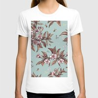 vintage floral T-shirts featuring Vintage Floral by Guildown