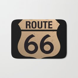 Route 66 Bath Mat