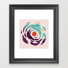 Sun Inside Me Framed Art Print