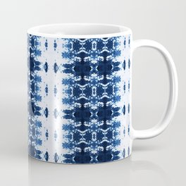 Blue Kumo Ikat Stripe Coffee Mug