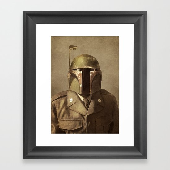 General Fettson Framed Art Print