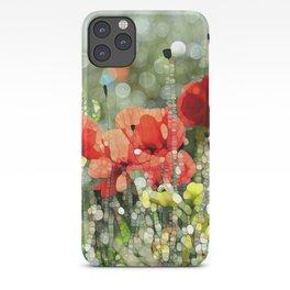 Poppy Mosaic iPhone Case