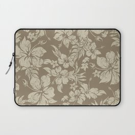 Hibiscus Pareau Hawaiian Floral Aloha Shirt Print Laptop Sleeve