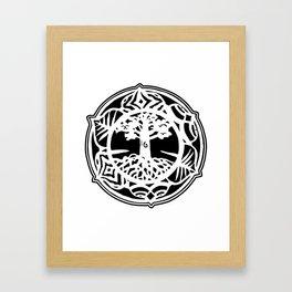 A Voice for Lieth Hill Logo Framed Art Print