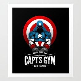 Capt's Gym Art Print