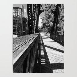 Follow the Unlit Path Poster