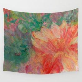 Darling Dahlia Wall Tapestry