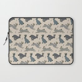 Jackalope Snow Parade Laptop Sleeve