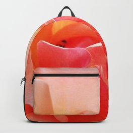 Pink Rose Blooming Backpack