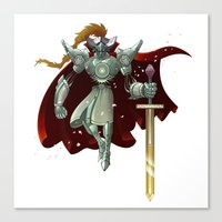 King Arthur Canvas Print