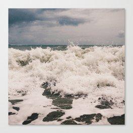 Vero Beach Waves 2 Canvas Print