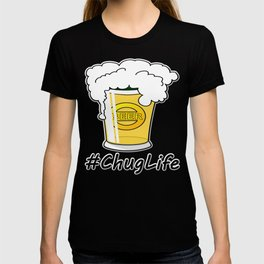#ChugLife Beer Mug T-shirt