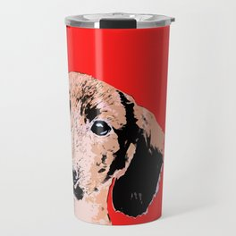 """Twist and Shout"" ~ Dachshund, Weiner Dog, Doxie, everywhere!   Travel Mug"