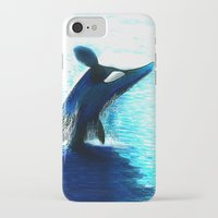 orca iPhone & iPod Cases featuring Orca by Artwork by Alex