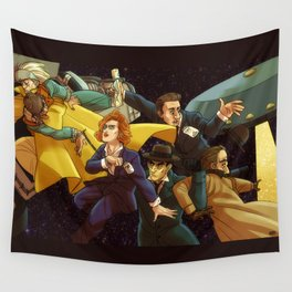 Back to the Mystery of the X-Files Wall Tapestry