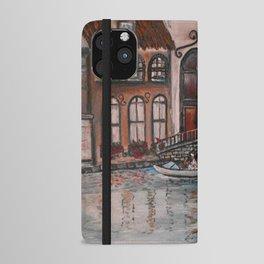 Canal Serenade iPhone Wallet Case