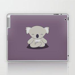 Kawaii Cute Koala Meditating Laptop & iPad Skin