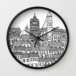 Siena, Italy Wall Clock