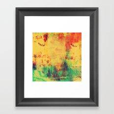 Somber Serenade Framed Art Print