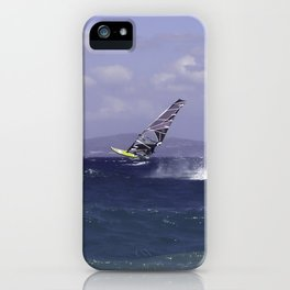 Catching Wind iPhone Case