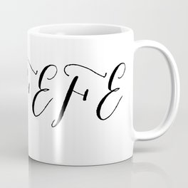 Covfefe in elegant bombshell font Coffee Mug