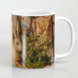 Hans Hoffmann - A Hare in the Forest Coffee Mug