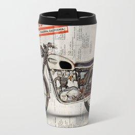 Triumph Bonneville t120 1966 Travel Mug