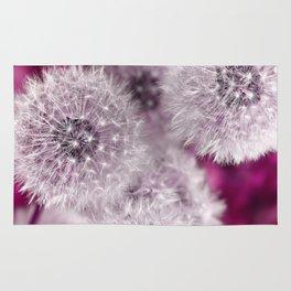 Dandelion pink Rug