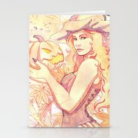 witchcraft Stationery Cards featuring Witchcraft by Souzou Inc