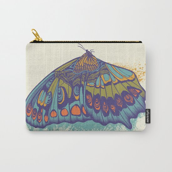 Butterfly Life Cycle Carry-All Pouch