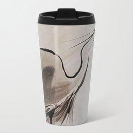 Japanese Crane #society6 #decor #buyart Travel Mug