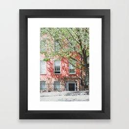 Brooklyn Heights in Spring Framed Art Print