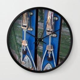 Ski Bindings Wall Clock
