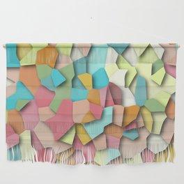 mosaic chaos Wall Hanging