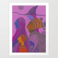 wizards Art Print