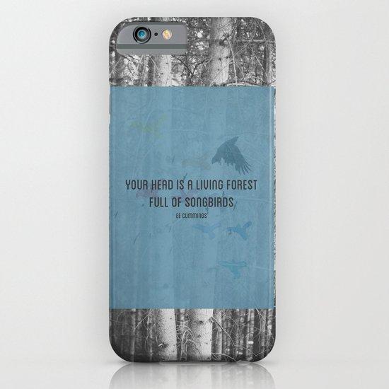 ee cummings - songbirds. iPhone & iPod Case