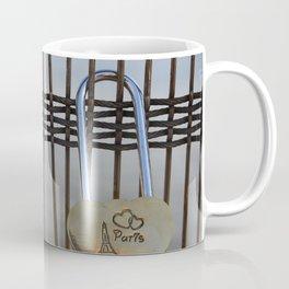 Pont des Arts Lock Bridge Paris France Coffee Mug