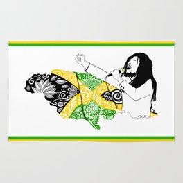 Jamaica -  Freedom Time Rug