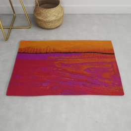 Square Abstract No. 8B by Kathy Morton Stanion Rug