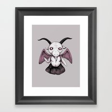 Plushie Baphomet  Framed Art Print