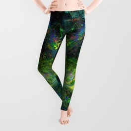 Rain Light Tears (totem, visionary, psychedelic) Leggings