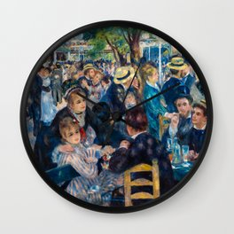Pierre Auguste Renoir 1876 - Dance at Le Moulin de la Galette Wall Clock