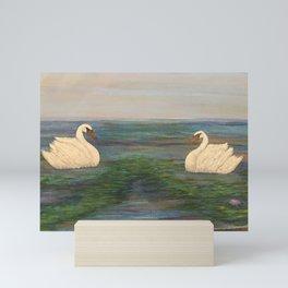 Swan Lake Mini Art Print