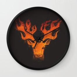 Hot Headed Wall Clock