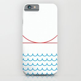 Stamp series - Golden gate iPhone Case