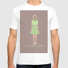 Marc Jacobs Aesthetic White MEDIUM Mens Fitted Tee