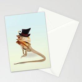 Mr Frilly Lizard Stationery Cards