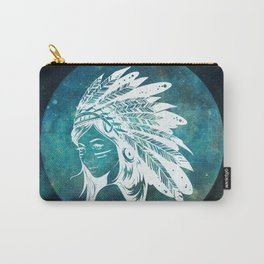 Moon Child Goddess Bohemian Girl Carry-All Pouch