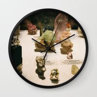 gem Wall Clocks featuring gem by ghostchesters