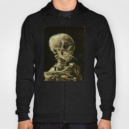 Vincent van Gogh - Skull of a Skeleton with Burning Cigarette Hoody